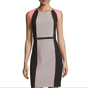 Tahari Arthur S Levine Sleeveless Dress Size 2